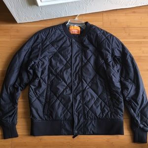 Black Cintamani bomber jacket